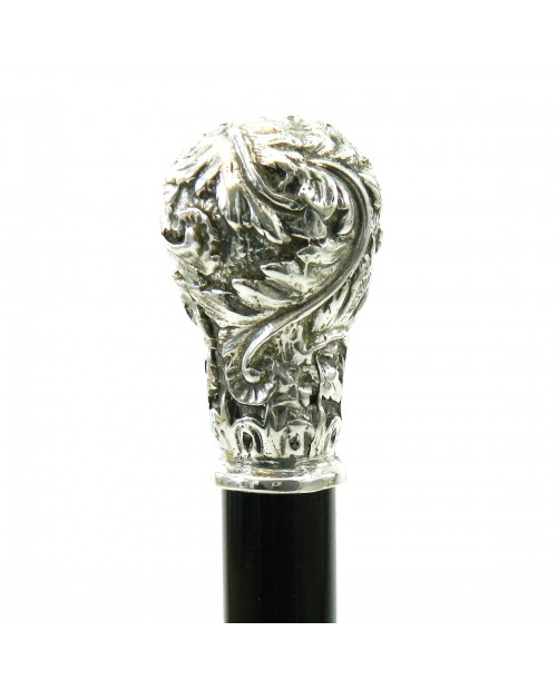 Walking stick, lion knob. Customizable. Stick for women and men. Made in Italy