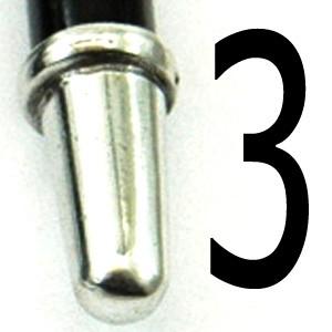 N3 (puntale in metallo)