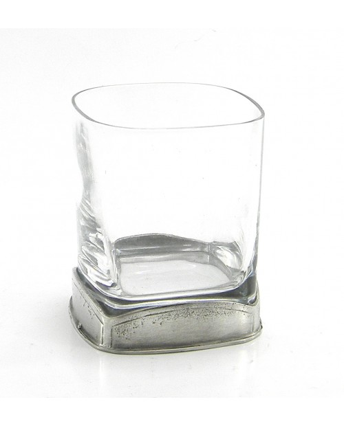 Square, Glass, water, pewter and glass